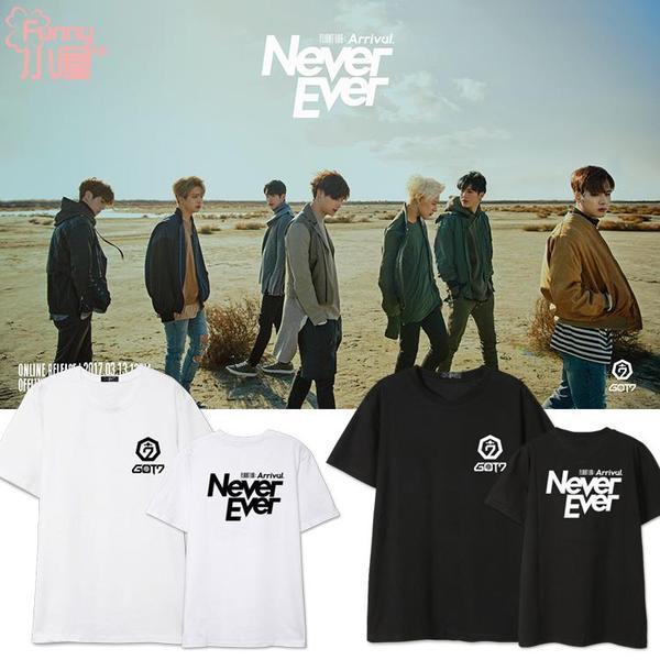 เสื้อยืด (T-Shirt) GOT7 ARRIVAL