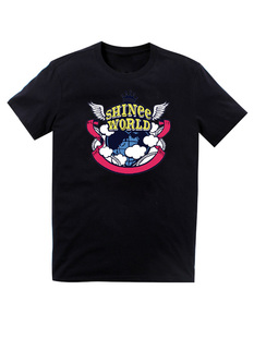 เสื้อยืด Shinee World (สีดำ)