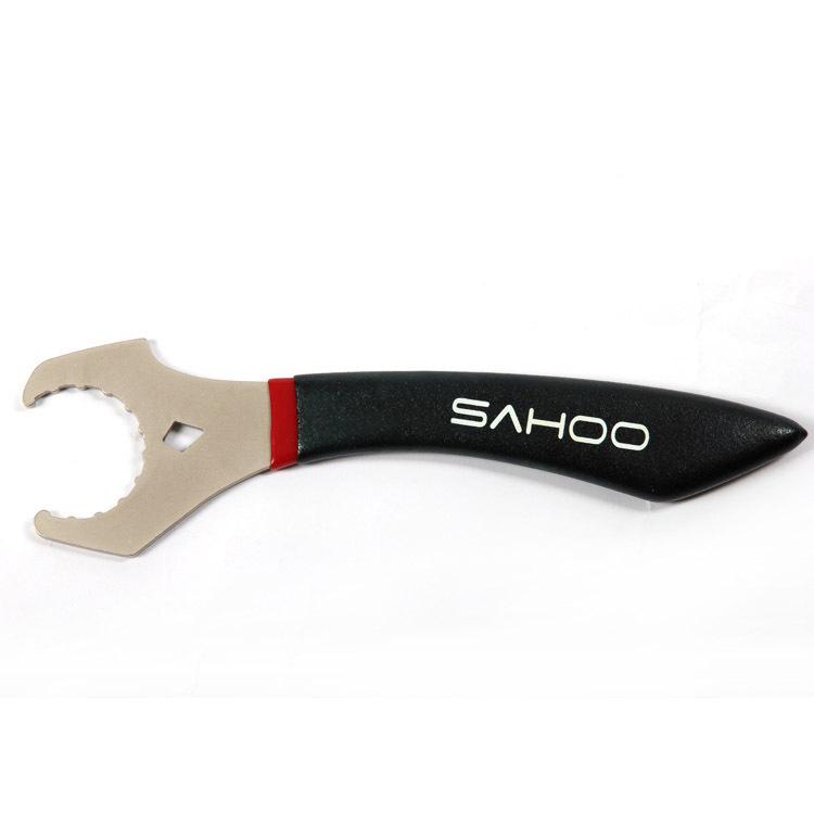 ปะแจถอดกะโหลกกลวง SAHOO one-piece hollow BB,23840