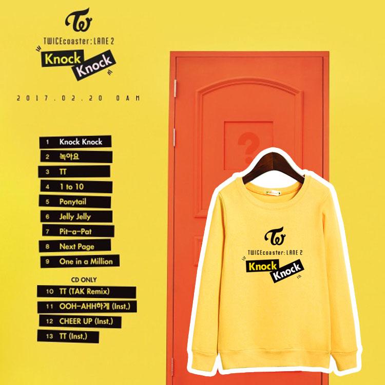 เสื้อแขนยาว (Sweater) TWICE - Knock Knock