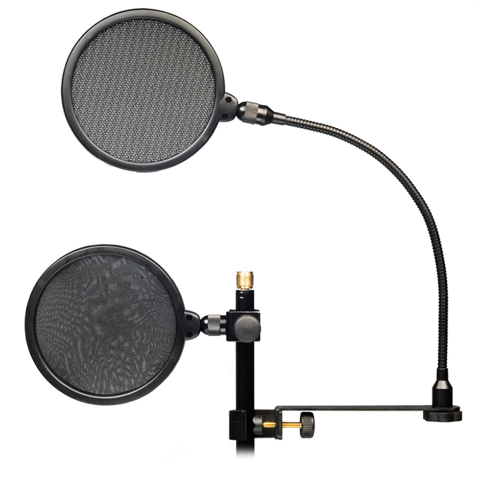 Superlux HM18AG Professional Pop Filter Screen แผ่นกรองเสียงกันลมและน้ำลาย