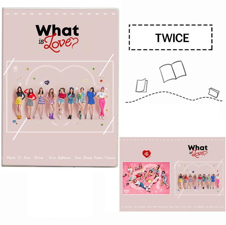 สมุด TWICE - What is Love