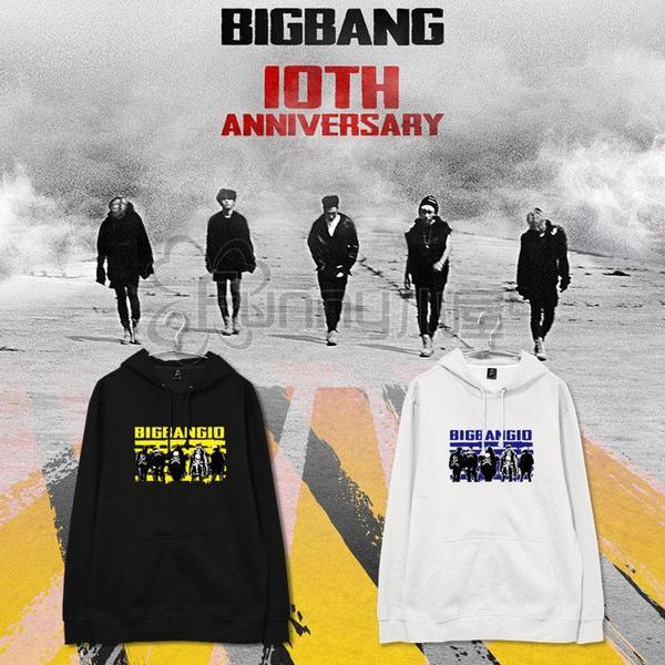 เสื้อแฟชั่นนักร้องเกาหลี เสื้อฮูดกันหนาว Bigbang10 (ระบุไซส์ สี)
