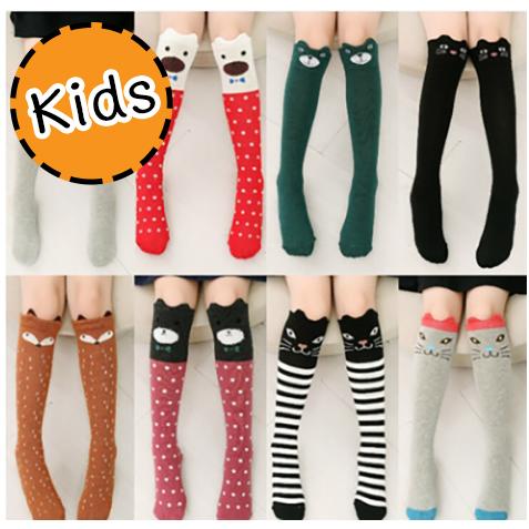 [ไซส์เด็ก] K6907 เลกกิ้งเด็ก/ถุงเท้ายาว รูปสัตว์น้อยน่ารัก Cute Animal for Kids