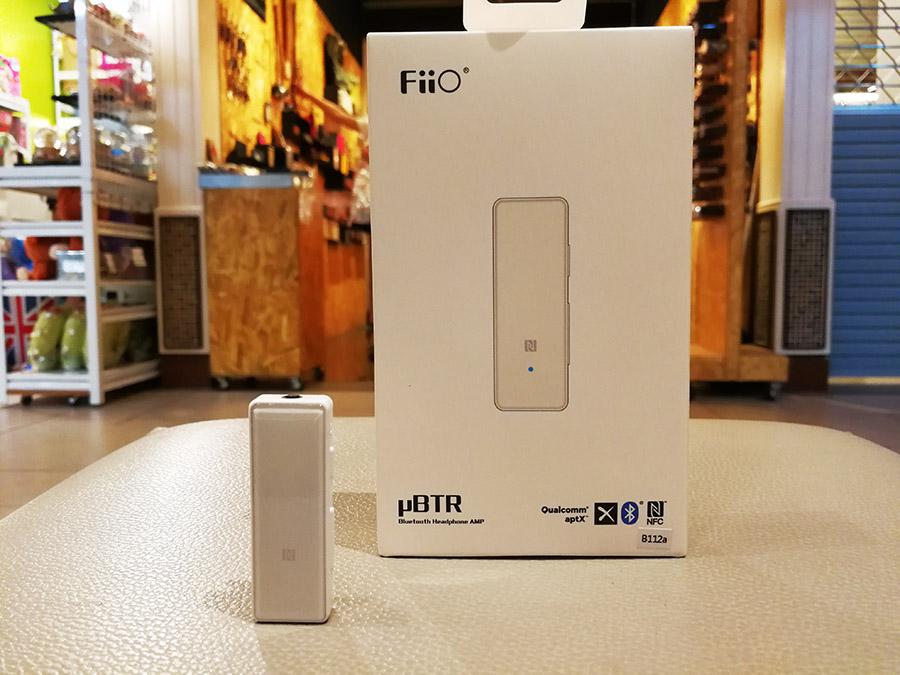 Fiio uBtr Dac Amp ระบบ Bluetooth 4.1 รองรับ Aptxไม่ต้องต่อสาย ใช้งานได้ทั้ง Ios Android