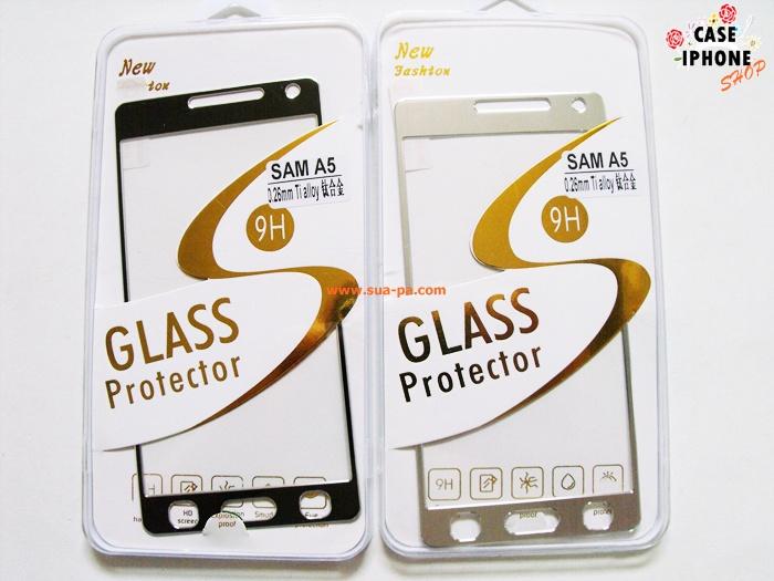 ฟิล์มกระจกไทเทเนียม Samsung Galaxy A5