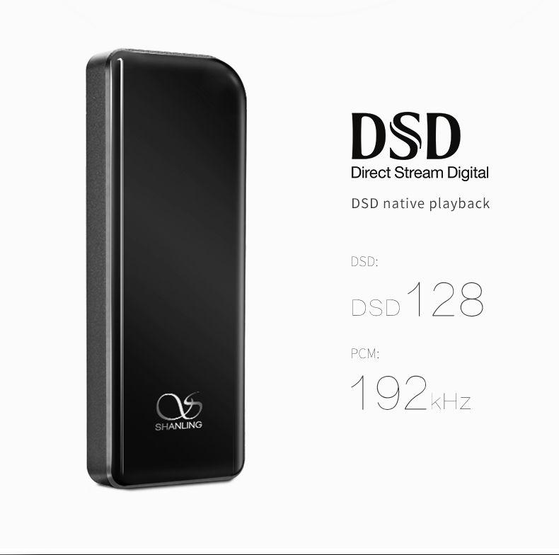 Shanling UP DAC จิ๋วใช้ชิปเสียงคุณภาพสูงถอดรหัส DSD ได้ รองรับ iOS Android USB-C