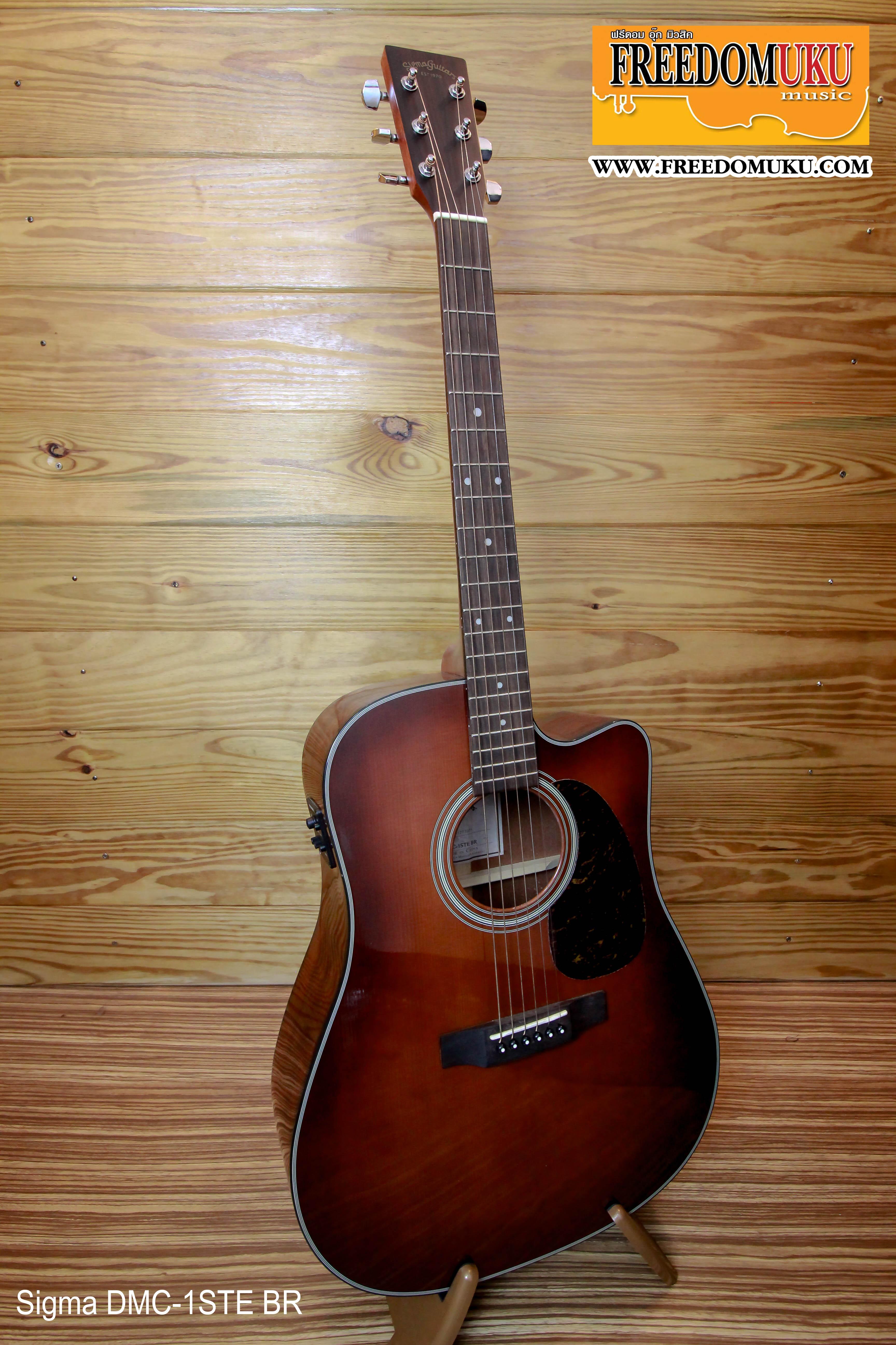 Sigma Guitar DMC-1STE BR