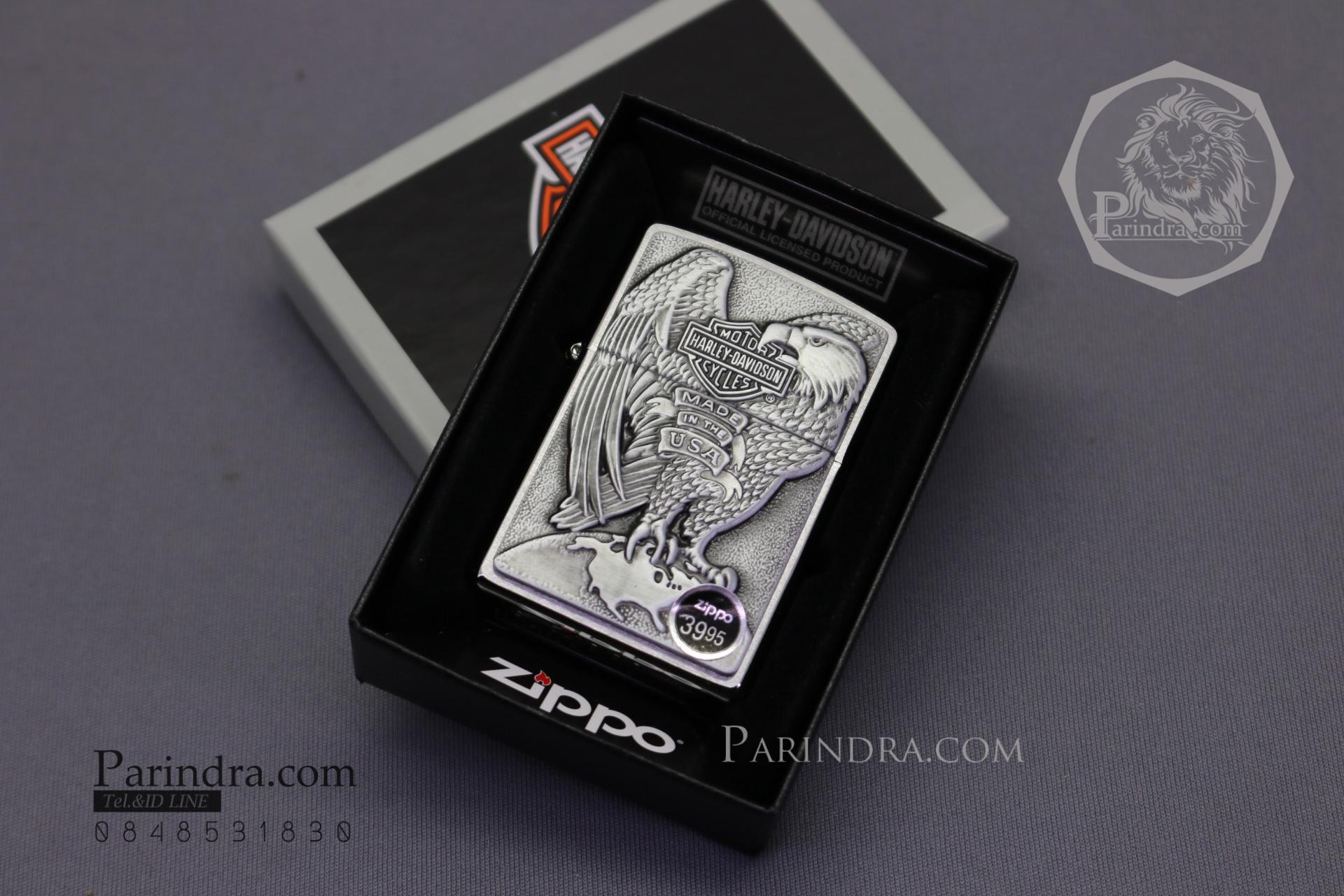 """ไฟแช็ค Zippo แท้ """"Harley Davidson"""" #Zippo 200HD.H231 แท้นำเข้า 100%"""