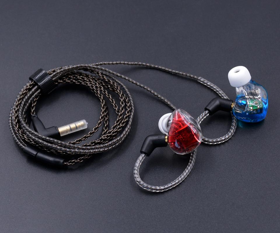 หูฟัง Magaosi K5 หูฟังแบบ 5 ไดรเวอร์ 5BA Audiophile MMCX มีสายให้เลือกทั้งแบบธรรมดา และแบบ Bluetooth