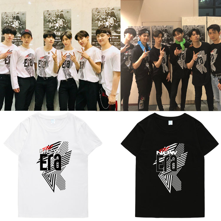 เสื้อยืด (T-Shirt) GOT7- FM 2018 THE New Era