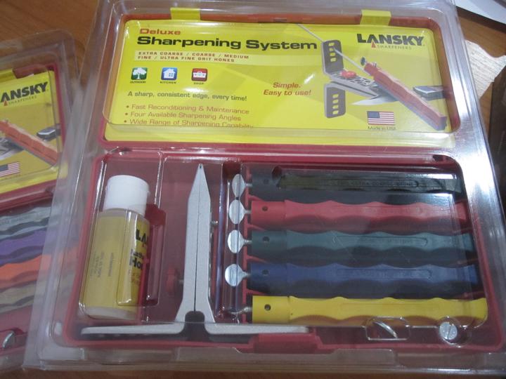 Lansky DELUXE FIVE-STONE SHARPENING SYSTEM