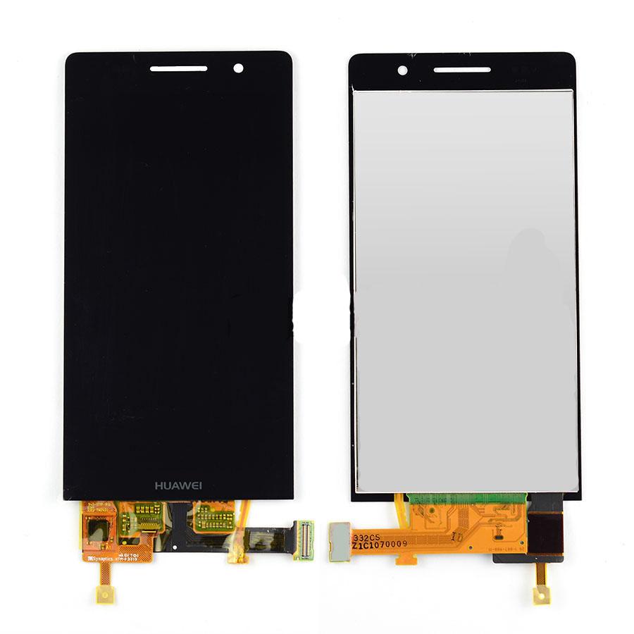 เปลี่ยนจอ Huawei Ascend P6 (P6-U06) หน้าจอแตก ทัสกรีนกดไม่ได้