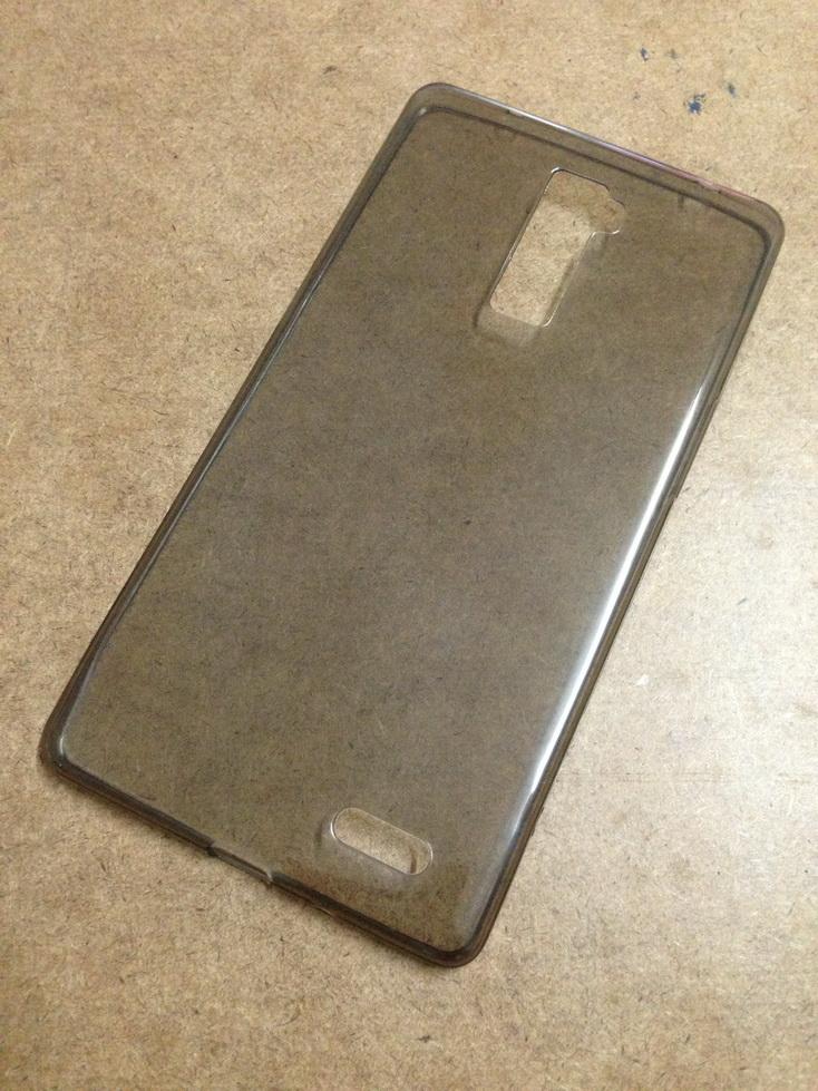 เคสนิ่มใส (หนา 0.3 mm) OPPO R7 Plus สีเทา