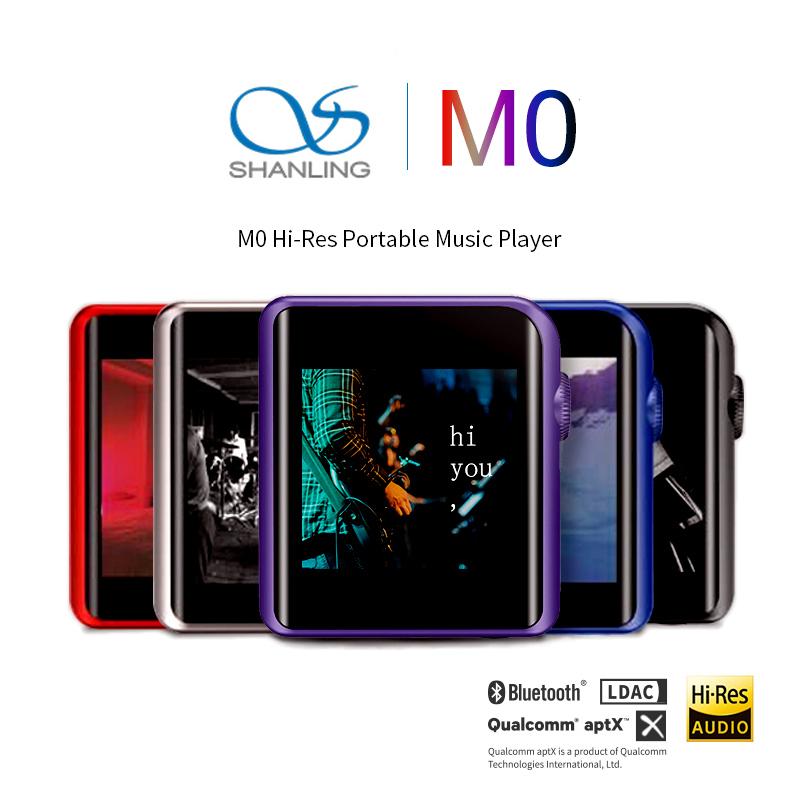 Shanling M0 เครื่องเล่นพกพาจิ๋วระดับ Hi-Res รองรับไฟล์เพลงความละเอียดสูง Lossless Bluetooth มีฟังก์ชั่น Bluetooth Dac