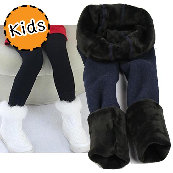 [ไซส์เด็ก] K7776 เลกกิ้งกันหนาว บุขน สำหรับเด็ก กันหนาวได้ถึงติดลบ