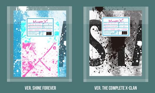 อัลบั้ม [#MONSTA_X] SHINE FOREVER [ระบุ A / B VER. ที่ช่องหมายเหตุ]