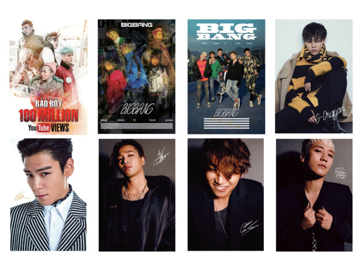 โปสเตอร์เซต 8 แผ่น BIGBANG
