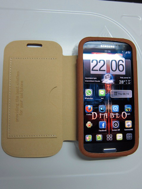 Folio Flip Case Galaxy S3