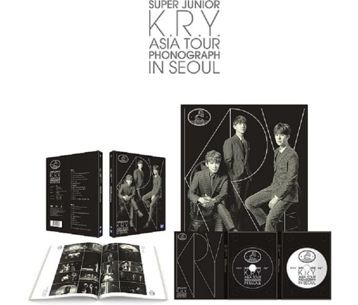 [DVD] SuperJunior : K.R.Y. - Asia Tour PHONOGRAPH in Seoul