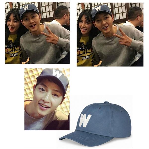 หมวกสีน้ำเงิน W Song joong ki