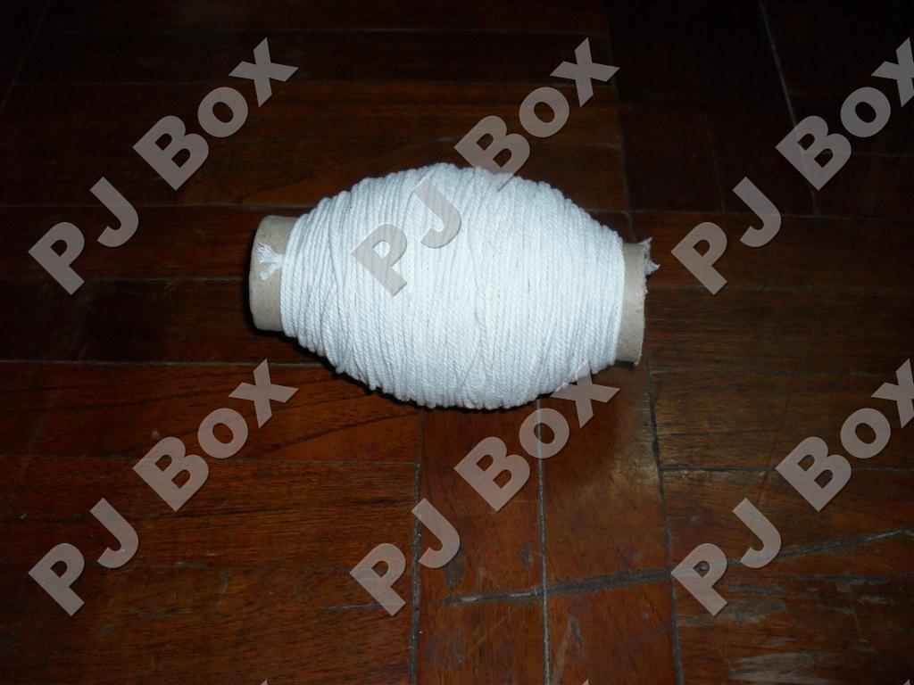 เชือกขาว หนา 18 เส้น ยาว 100 เมตร (พันแกน)