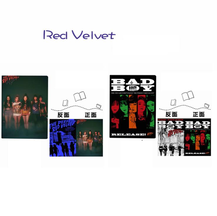 สมุด Red Velvet - BADBOY
