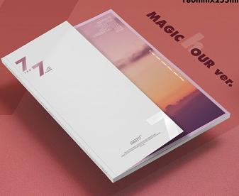 อัลบั้ม #GOT7 Album - 7 FOR 7 Ver.Magic