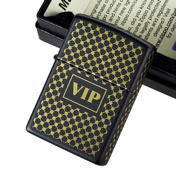 """ไฟแช็ค Zippo แท้ สำหรับบุคคลสำคัญ VIP """"Very Important Person"""" #28531 แท้นำเข้า 100%"""