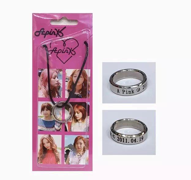 สร้อยคอแหวน A-pink