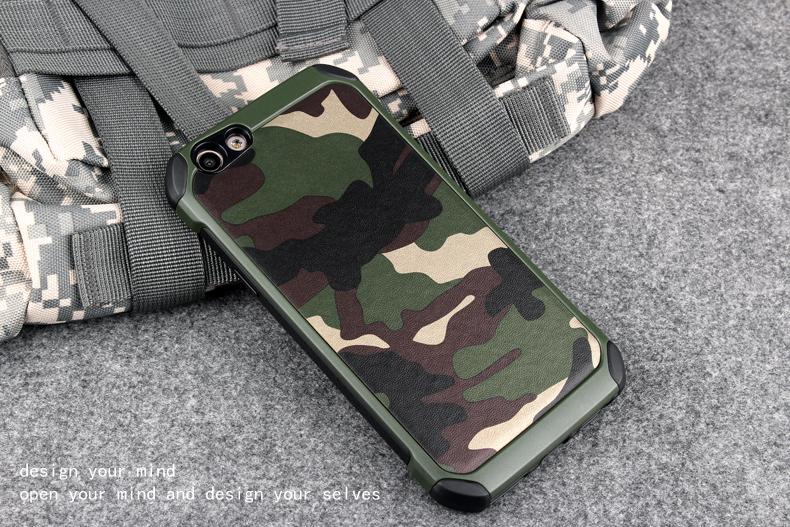 เคสกันกระแทกสองชั้นลายทหาร OPPO R9S Plus