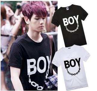 เสื้อยืดแฟชั่น BAEKHYUN BOY EXO (ระบุสี)