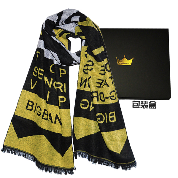 ผ้าเชียร์ ผ้าพันคอ #BIGBANG