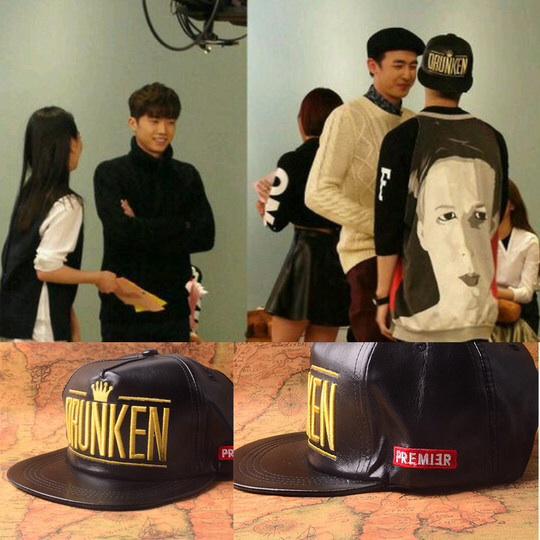 หมวกกแฟชั่น GOT7Jackson. DRUNKEN