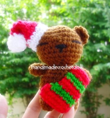 หมี - ชุดคริสมาส