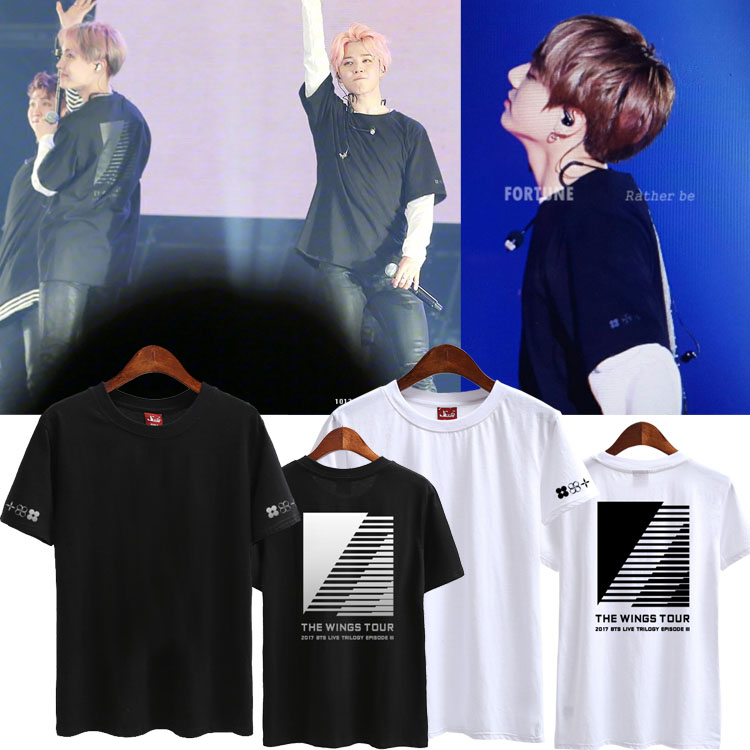 เสื้อยืด (T-Shirt) BTS - THE WINGS TOUR 2017