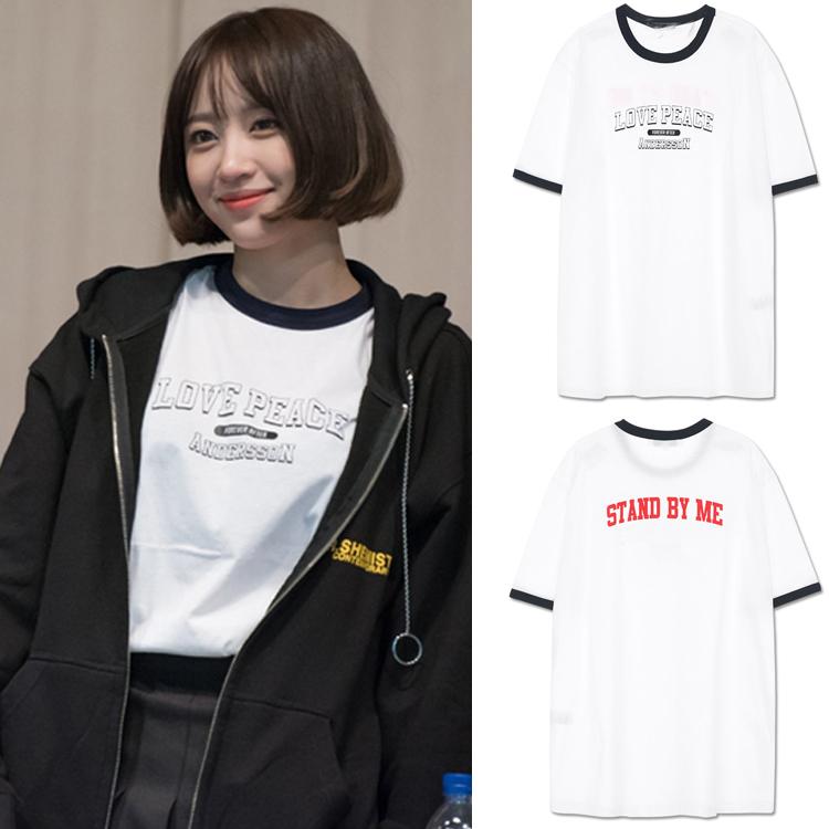 เสื้อยืด (T-Shirt) LOVE PEACE แบบ Hani