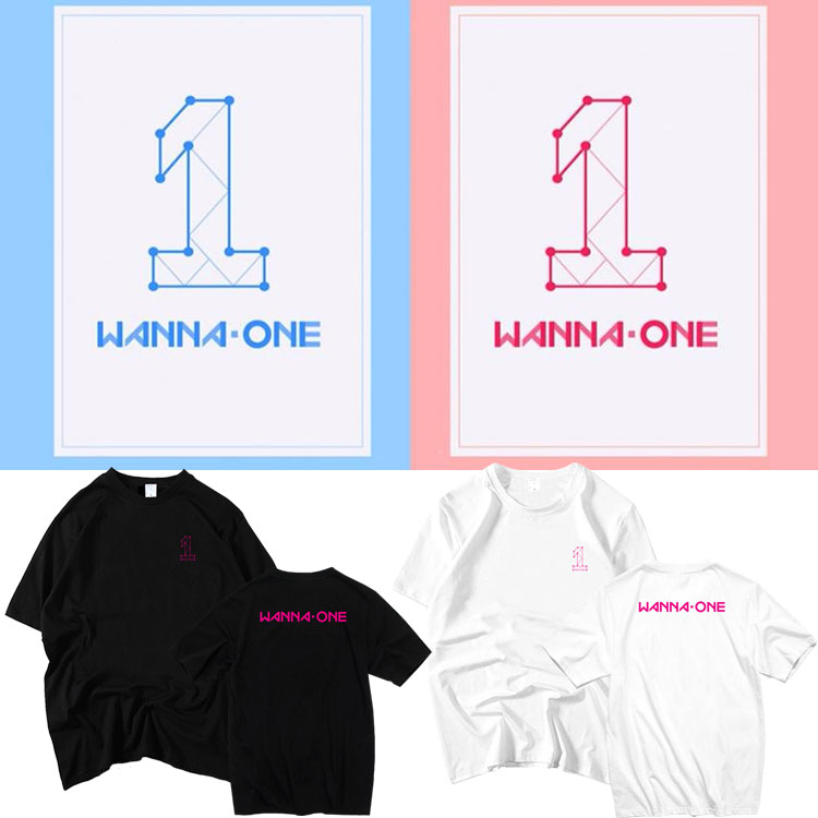 เสื้อยืด (T-Shirt) WANNA ONE (ver.2)