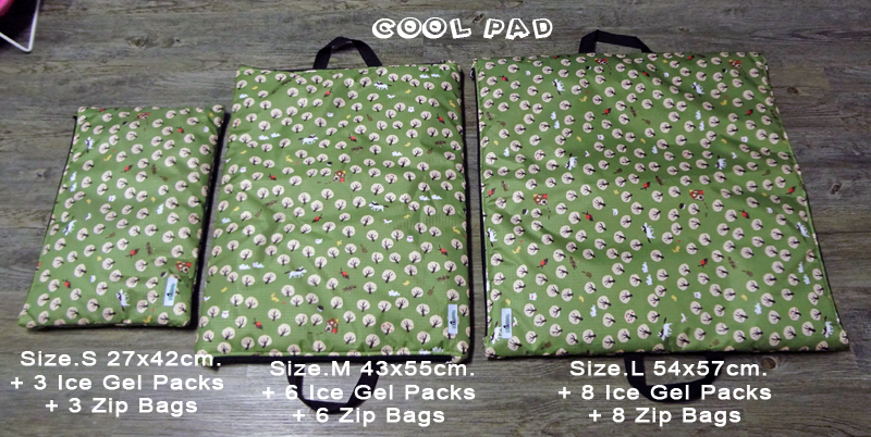 Cool Pad + Ice Gel Pack + Zip Bag
