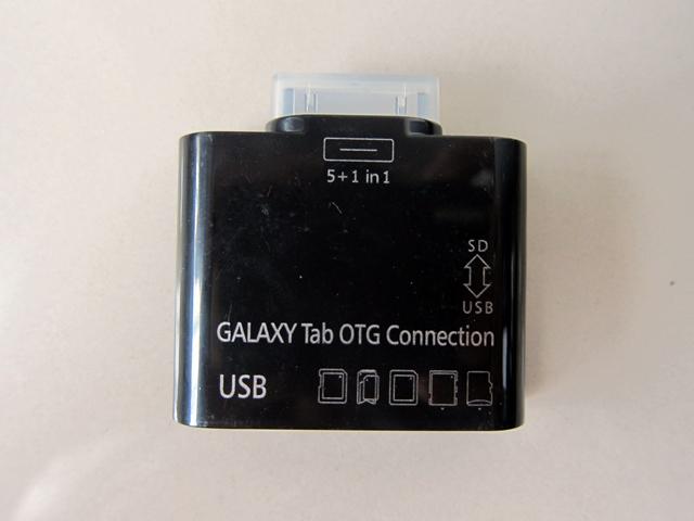 Galaxy TAB OTG Connection 5 IN 1