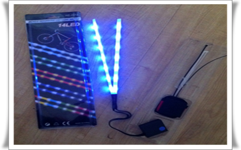 14 led bicycle decorative light