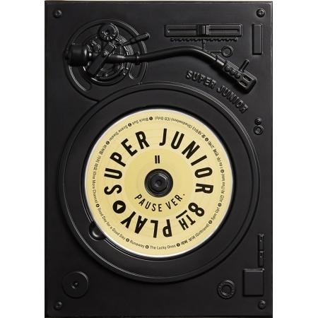 อัลบั้ม #SuperJunior - Album Vol.8 'PLAY' PAUSE VER.