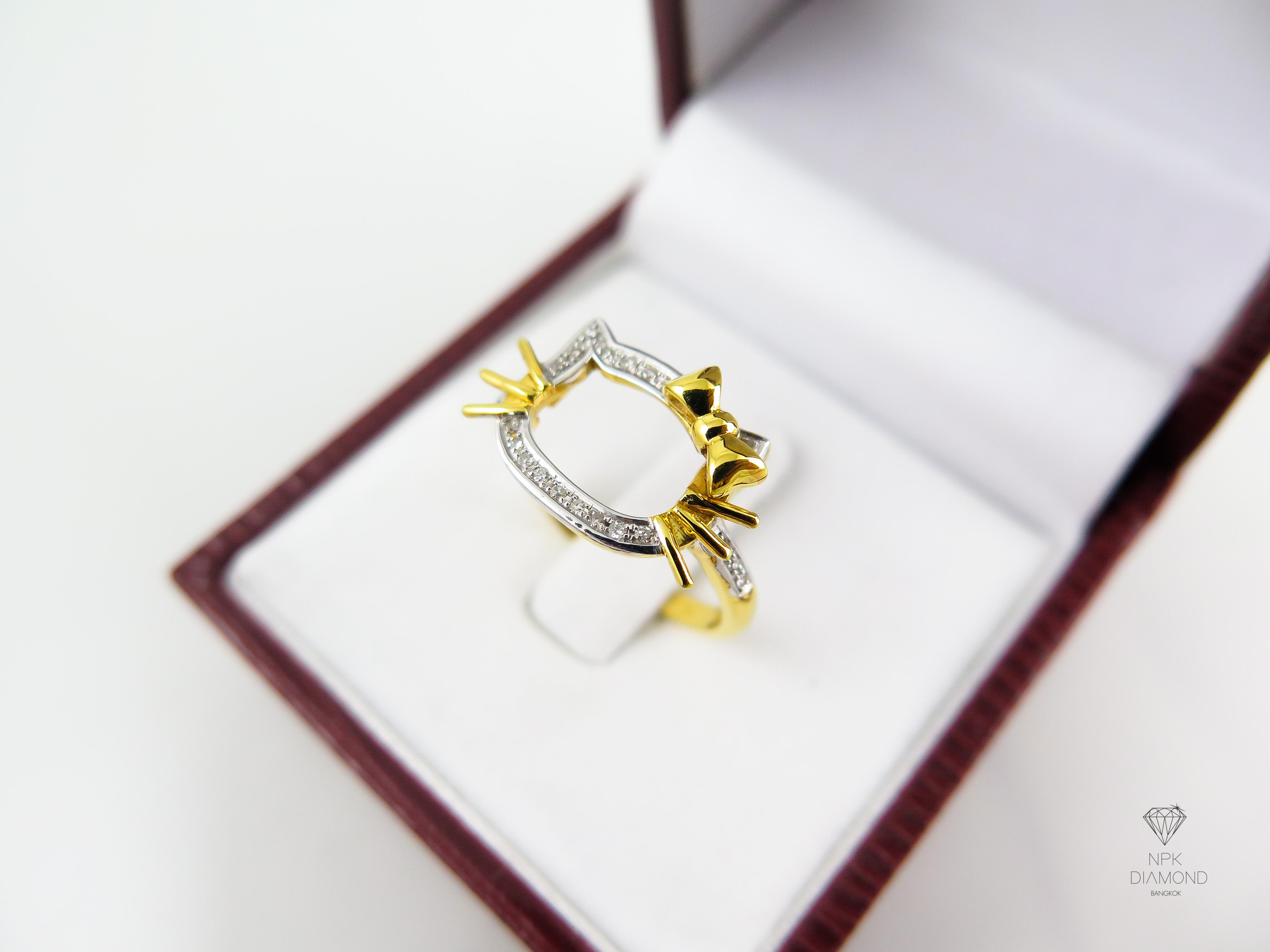 แหวนเพชร Kitty