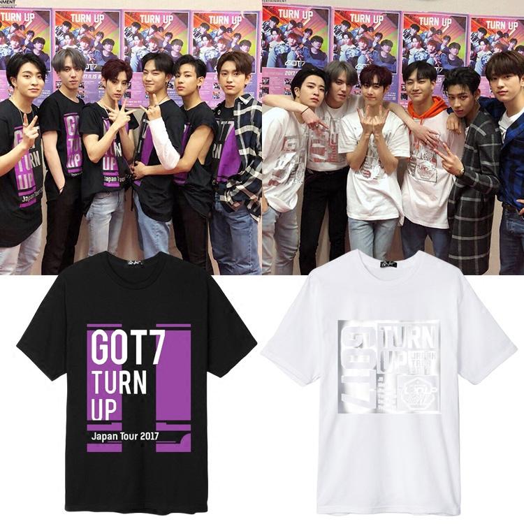 เสื้อยืด (T-Shirt) GOT7 - TURN UP Japan Tour 2017