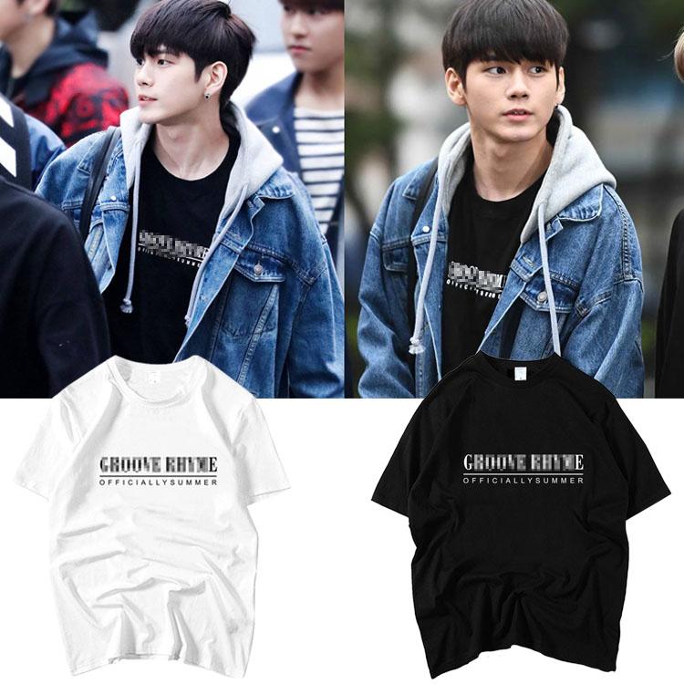 เสื้อยืด (T-Shirt) GROOVE RHYME แบบ Seongwoo