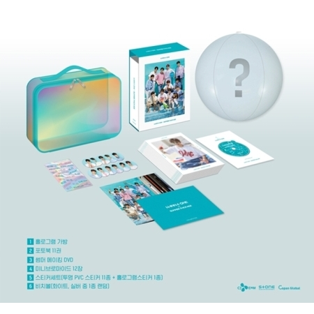 [DVD] #WANNA ONE - WANNA-ONE X SUMMER PACKAGE (สินค้าถึงไทยกันยายน)