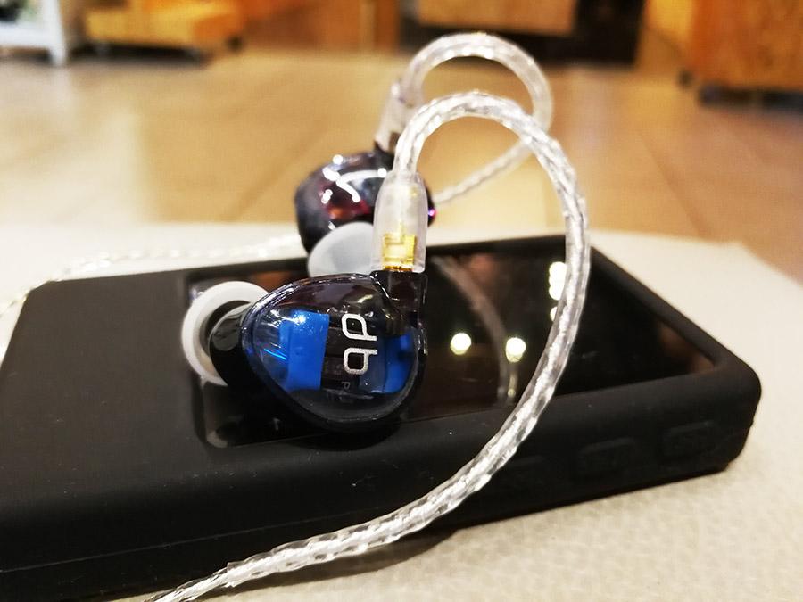 Audbos P4 หูฟัง IEM 4 ไดร์เวอร์ (4BA) ระดับเรือธง ขั้วแบบ Mmcx ถอดสายได้