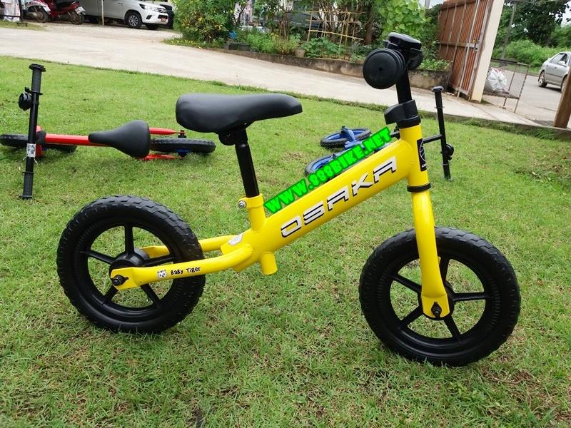 จักรยานฝึกการทรงตัว OSAKA BALANCE BIKE รุ่น BABY TIGER ล้อ 12 นิ้ว (เหล็ก)