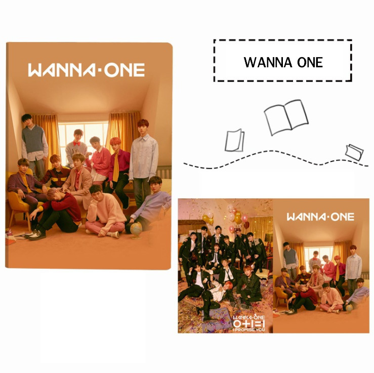 สมุด WANNA ONE - I PROMISE YOU