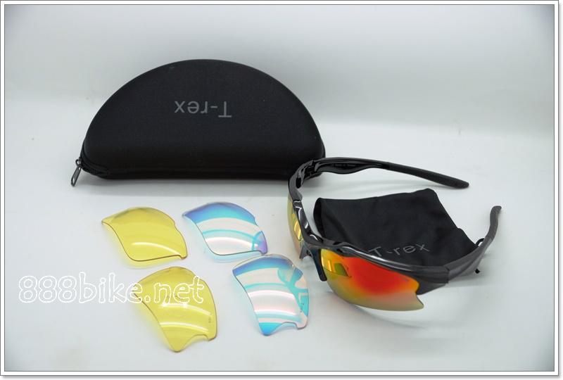 แว่นตา T-Rex Cycling Eyewear Sunglasses UV400 2 Lens Sport Polarized Goggles
